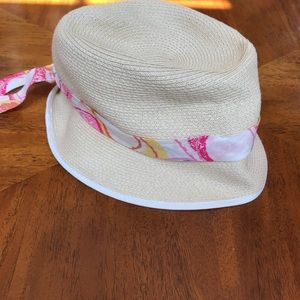 NWT Coach hat with Scarf